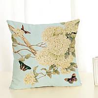 Наволочка на декоративную подушку (диванная подушка 45см х 45см + 50 грн) 11538п