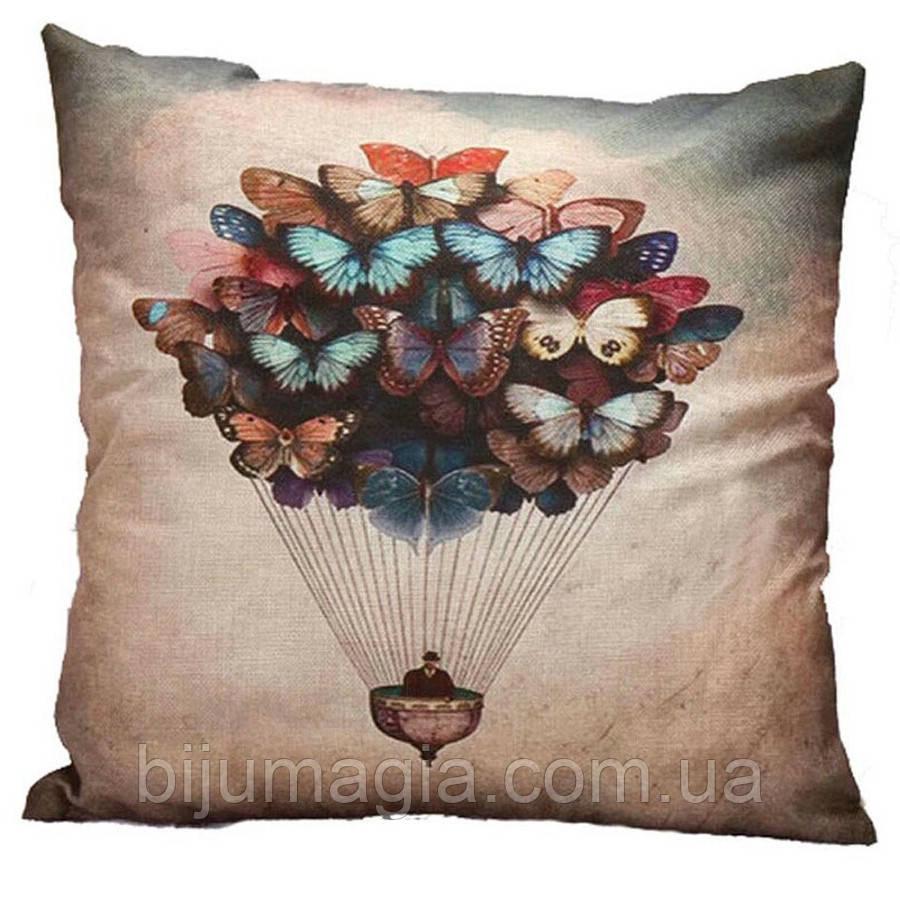 Наволочка на декоративну подушку (диванна подушка 45см х 45см + 50 грн) 11506п