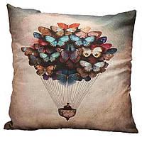 Наволочка на декоративну подушку (диванна подушка 45см х 45см + 50 грн) 11506п, фото 1