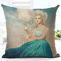 Наволочка на декоративну подушку (диванна подушка 45см х 45см + 50 грн) 115119п, фото 1