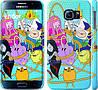 "Чехол на Samsung Galaxy S6 G920 Adventure time. Heroes. Принцесса Пупырка ""1212c-80"""