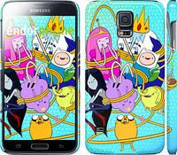 "Чехол на Samsung Galaxy S5 g900h Adventure time. Heroes. Принцесса Пупырка ""1212c-24"""