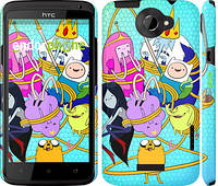 "Чехол на HTC One X+ Adventure time. Heroes. Принцесса Пупырка ""1212c-69"""