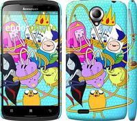"""Чехол на Lenovo S820 Adventure time. Heroes. Принцесса Пупырка """"1212c-52"""""""
