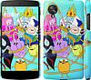 """Чехол на LG Nexus 5 Adventure time. Heroes. Принцесса Пупырка """"1212c-57"""""""