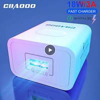 18 Вт USB зарядное устройство EU QC3.0 быстрое  зарядное устройство