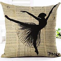 Наволочка на декоративную подушку (диванная подушка 45см х 45см + 50 грн) 11559п