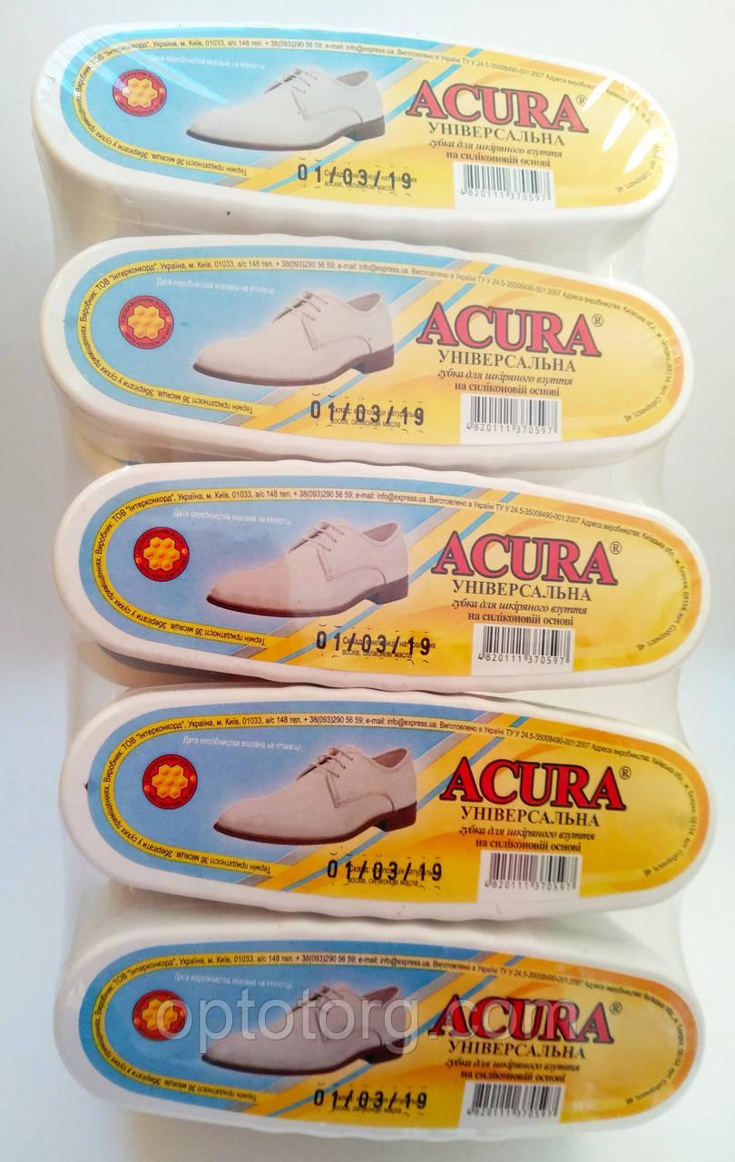Губка пропитка для обуви Акура ACURA бесцветная овал