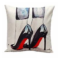 Наволочка на декоративную подушку (диванная подушка 45см х 45см + 50 грн) 11519п