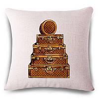 Наволочка на декоративную подушку (диванная подушка 45см х 45см + 50 грн) 115117п