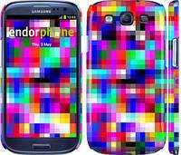 "Чехол на Samsung Galaxy S3 Duos I9300i MultiPixeles ""2806c-50"""