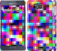 "Чехол на Samsung Galaxy Alpha G850F MultiPixeles ""2806c-65"""