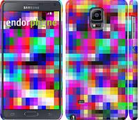 "Чехол на Samsung Galaxy Note 4 N910H MultiPixeles ""2806c-64"""