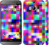 "Чехол на HTC One M8 dual sim MultiPixeles ""2806c-55"""