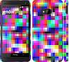 """Чехол на HTC One M7 MultiPixeles """"2806c-36"""""""