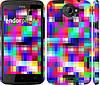 """Чехол на HTC One X+ MultiPixeles """"2806c-69"""""""