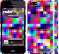"""Чехол на iPhone 5s MultiPixeles """"2806c-21"""""""