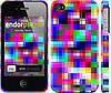 """Чехол на iPhone 4s MultiPixeles """"2806c-12"""""""