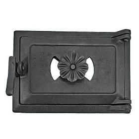 Поддувальная дверка для печи 102832, 175х245 мм