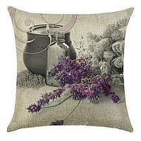 Наволочка на декоративную подушку (диванная подушка 45см х 45см + 50 грн) 115113п