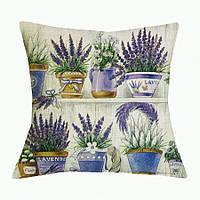 Наволочка на декоративную подушку (диванная подушка 45см х 45см + 50 грн) 11574п