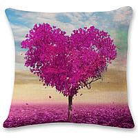 Наволочка на декоративную подушку (диванная подушка 45см х 45см + 50 грн) 11581п-б