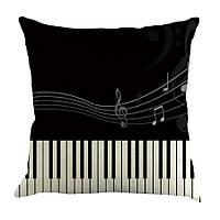 Наволочка на декоративную подушку (диванная подушка 45см х 45см + 50 грн) 11595п