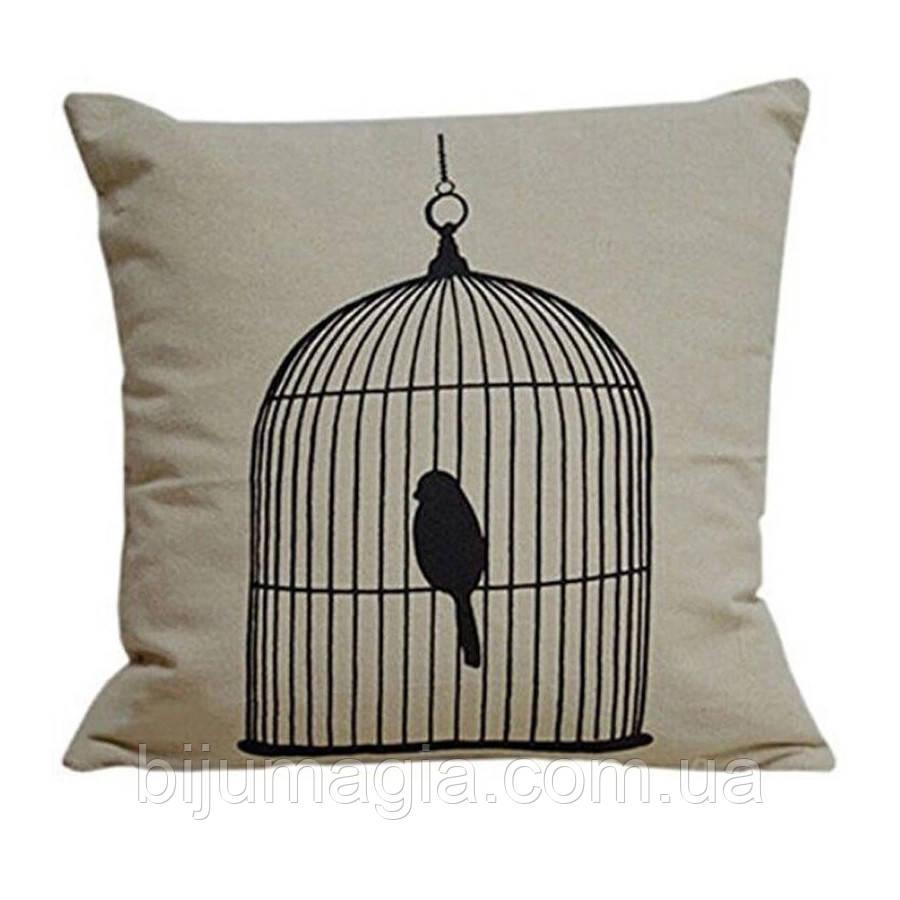 Наволочка на декоративную подушку (диванная подушка 45см х 45см + 50 грн), 11576п