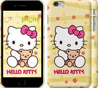 """Чехол на iPhone 6 Plus Hello kitty. Yellow """"681c-48"""""""