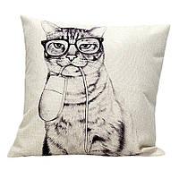 Наволочка на декоративную подушку (диванная подушка 45см х 45см + 50 грн) 11513п