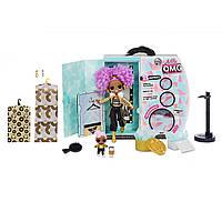 Кукла L.O.L. Surprise! O.M.G. Winter Disco 24K D.J. Fashion Зимнее диско Леди Дива  Ди Джей и сестричка 561811