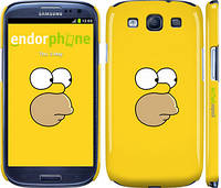 "Чехол на Samsung Galaxy S3 i9300 Симпсоны. Гомер ""199c-11"""