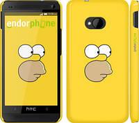"Чехол на HTC One M7 Симпсоны. Гомер ""199c-36"""