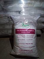 Цинк сульфат гептагедрат паллета 1000 кг