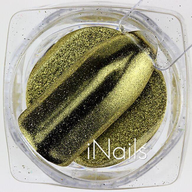 Зеркальная пудра Chrome №03 золото