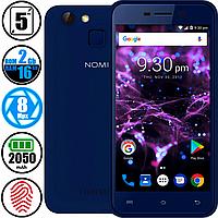 Смартфон Nomi i5013 Evo M2 Pro 2/16Gb Blue