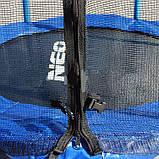 Батут Neo Sport 140 см с сеткой, фото 4