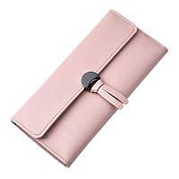 Кошелек женский розовый 11352п-в