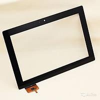 Touch screen Lenovo S6000 черный