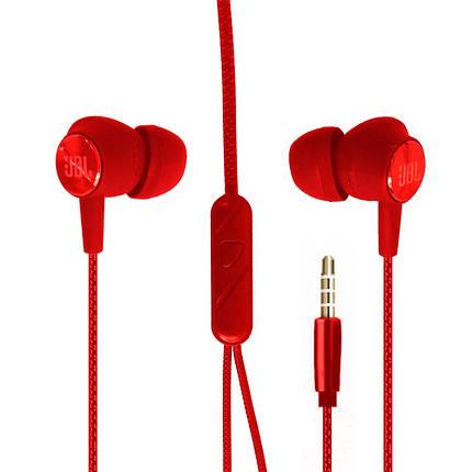 Навушники вакуум JBLE1 (Red), фото 2