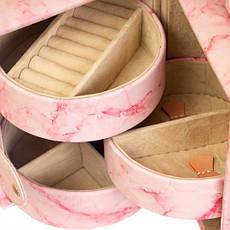 "Шкатулка ""Розовый мрамор"", фото 3"