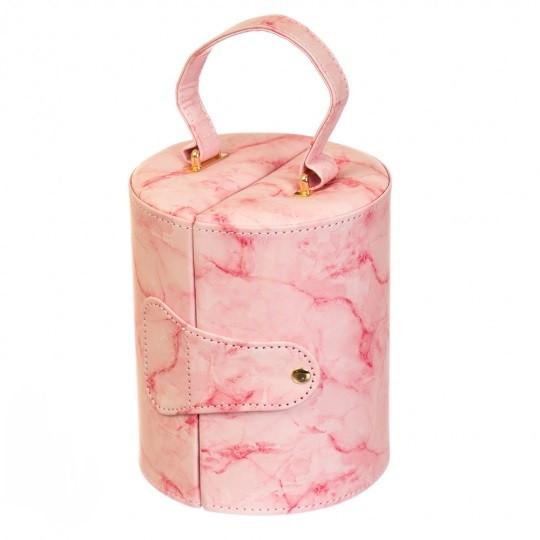"Шкатулка ""Розовый мрамор"""