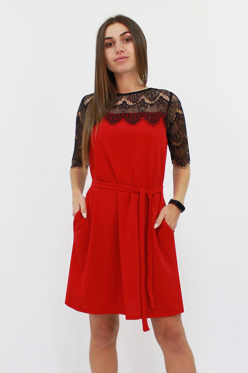 S, M, L / Коктейльне жіноче плаття Arizona, червоний