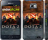 "Чехол на Samsung Galaxy S2 i9100 Dota 2 ""625c-14"""