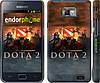 "Чехол на Samsung Galaxy S2 Plus i9105 Dota 2 ""625c-71"""