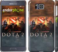"Чехол на Samsung Galaxy Alpha G850F Dota 2 ""625c-65"""