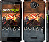"Чехол на HTC One X Dota 2 ""625c-42"""