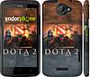 "Чехол на HTC One X+ Dota 2 ""625c-69"""