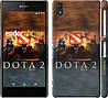 "Чехол на Sony Xperia Z2 D6502/D6503 Dota 2 ""625c-43"""