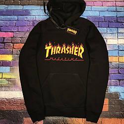 Толстовка чёрная LOYS Thrasher L